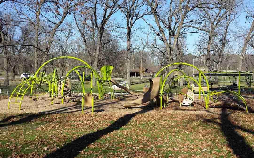 Harriman Park in Hampton, Iowa