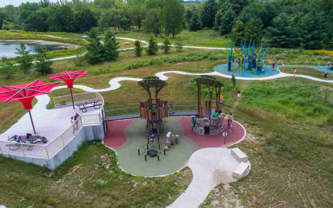 Terra Lake Playground in Johnston, Iowa